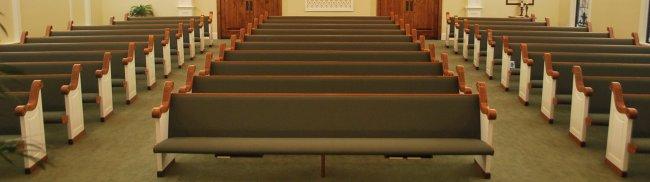 CHURCH PEWS NEW SOLID OAK
