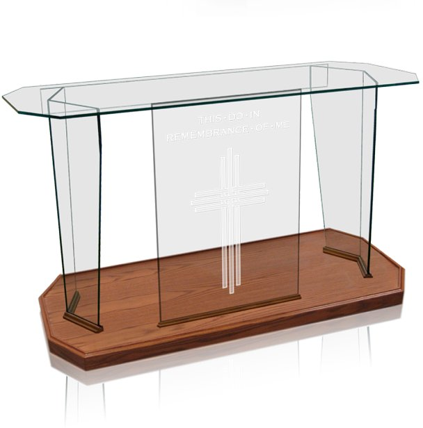 Prestige Glass Communion Table