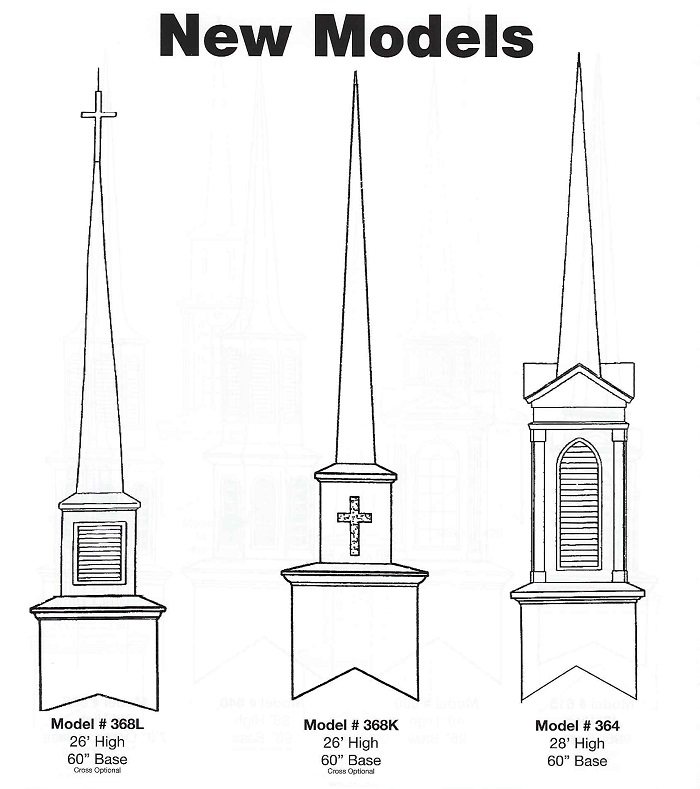 Church Steeple by Church Outlet